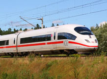 ICE-International trein naar keulen in duitsland